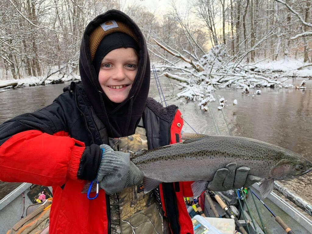 Oswego River Family Friendly Fishing Trips