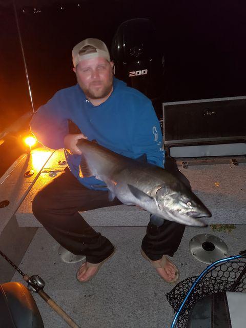 Lake Ontario Night Fishing Charters