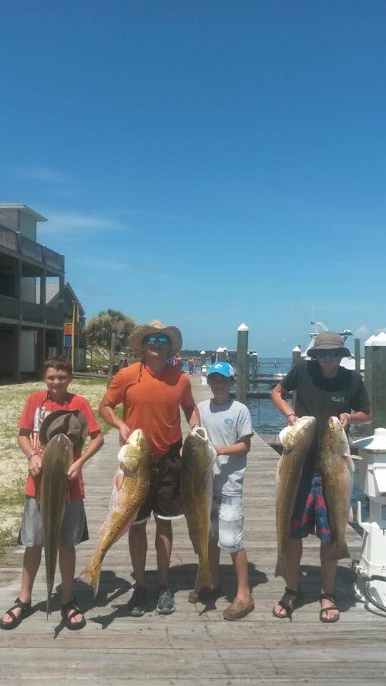 Family Friendly Orange Beach Fishing Charters