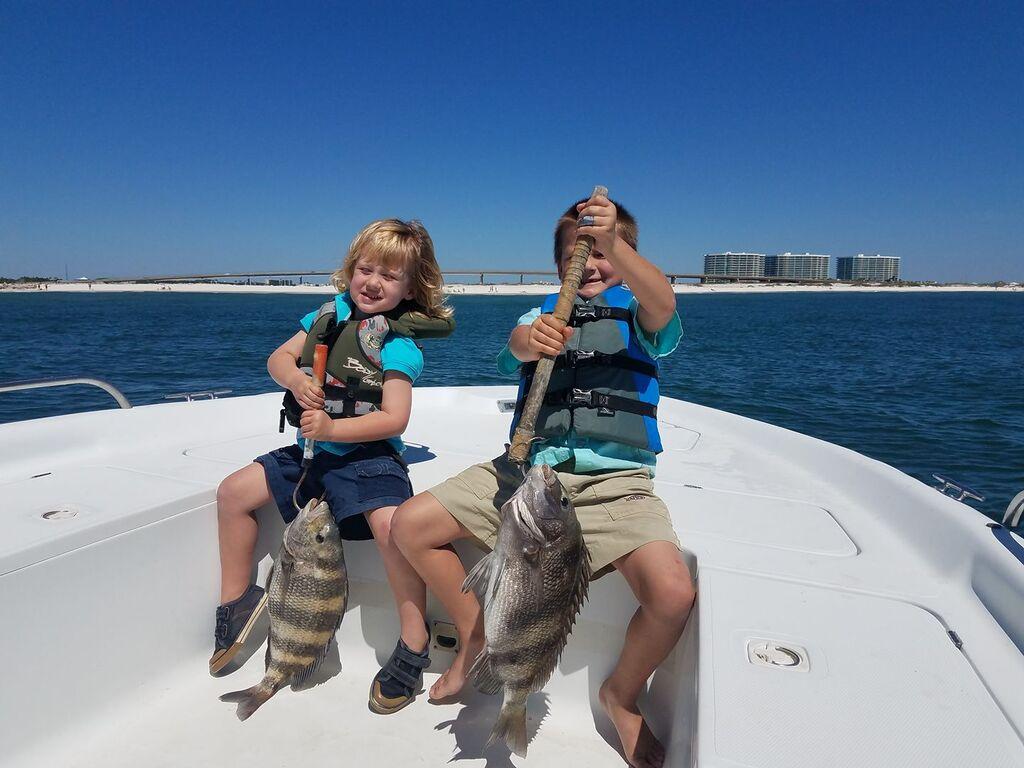 Family Friendly Orange Beach Fishing Guides