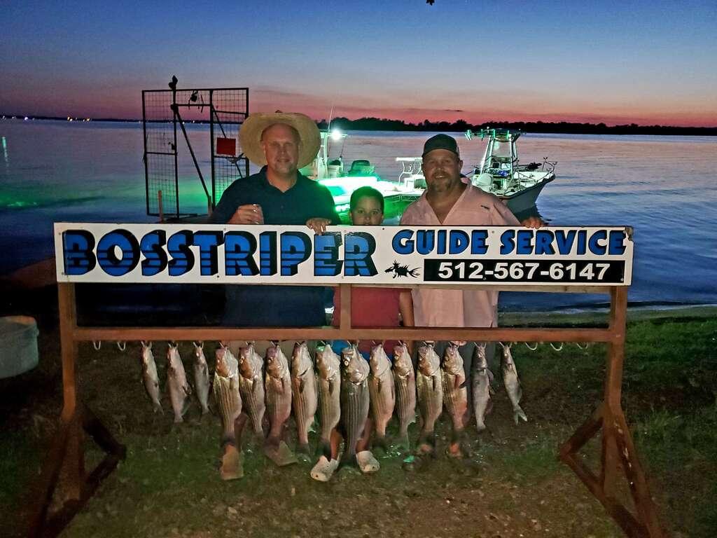 Lake Buchanan Fishing Trips