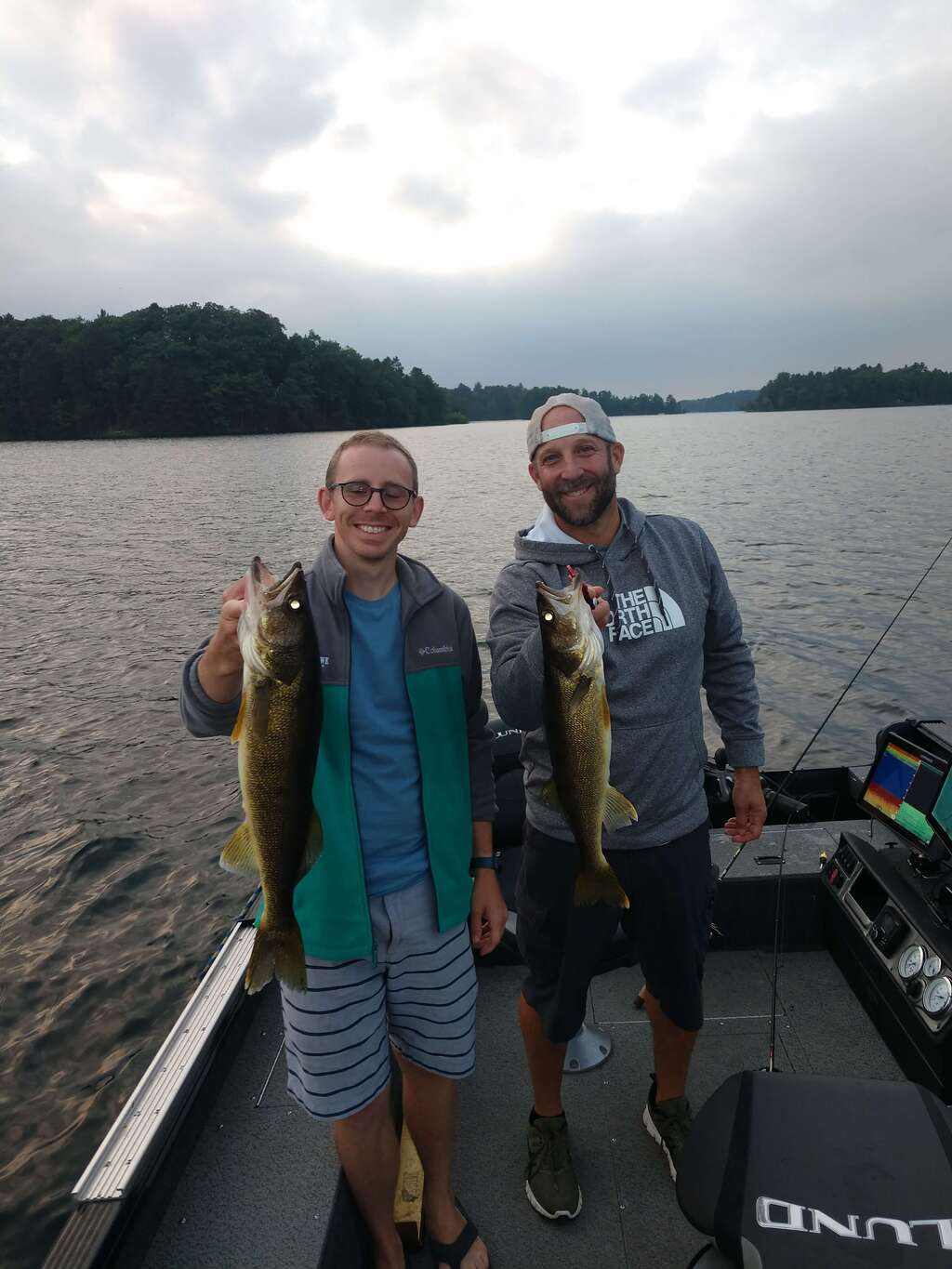 Had a great evening on Lake Tomahawk.