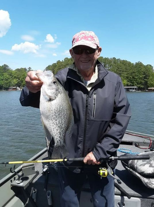 Crappie Fishing on Meherrin River