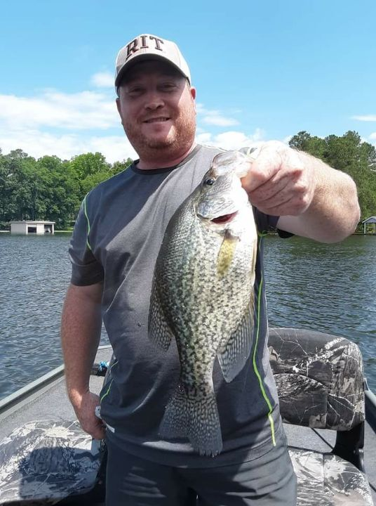 Roanoke Rapids Lake Crappie Fishing