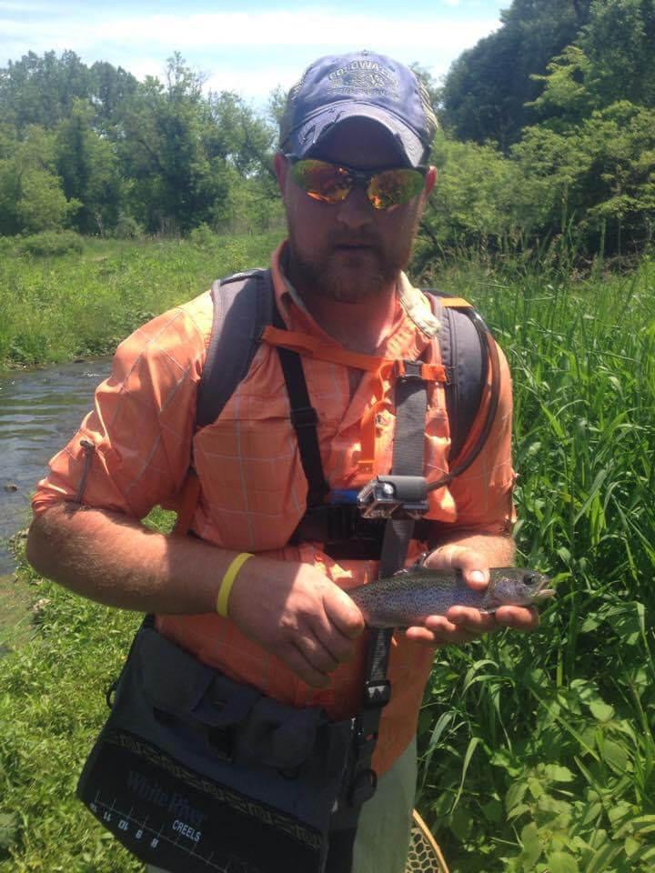 Rainbow Trout Iowa Fishing Guide