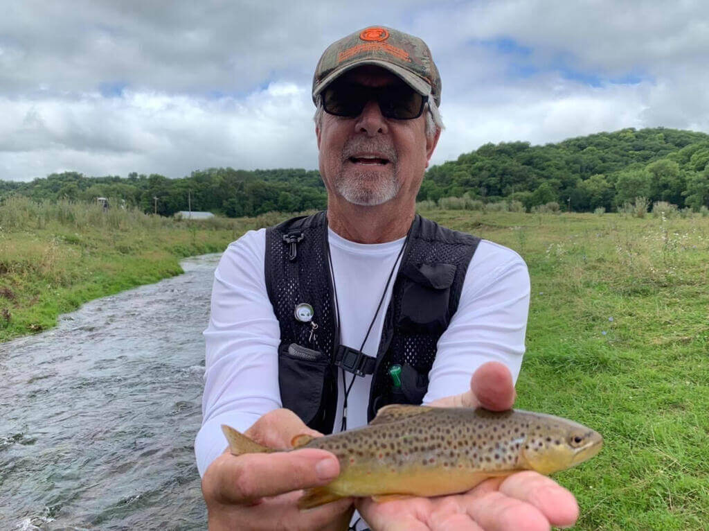 Trout Fly Fishing In Iowa Streams