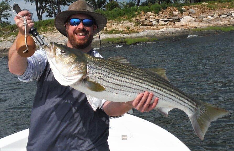 Bass Fishing Guide Long Island Sound
