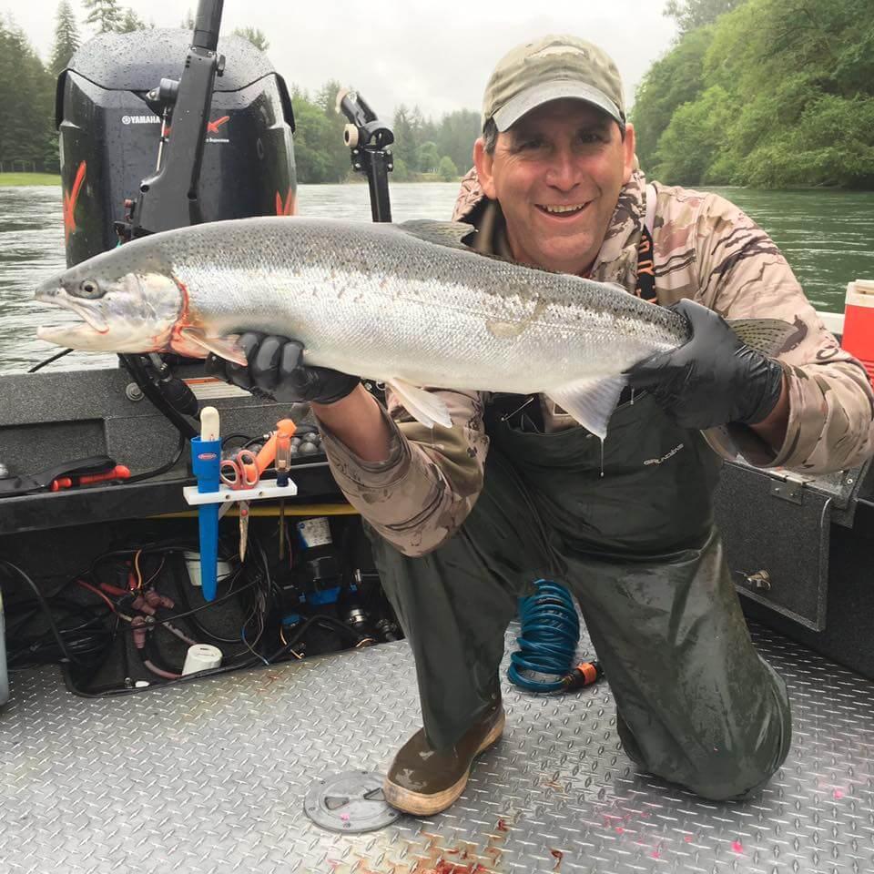 Coho Salmon Fishing Guide in Washington