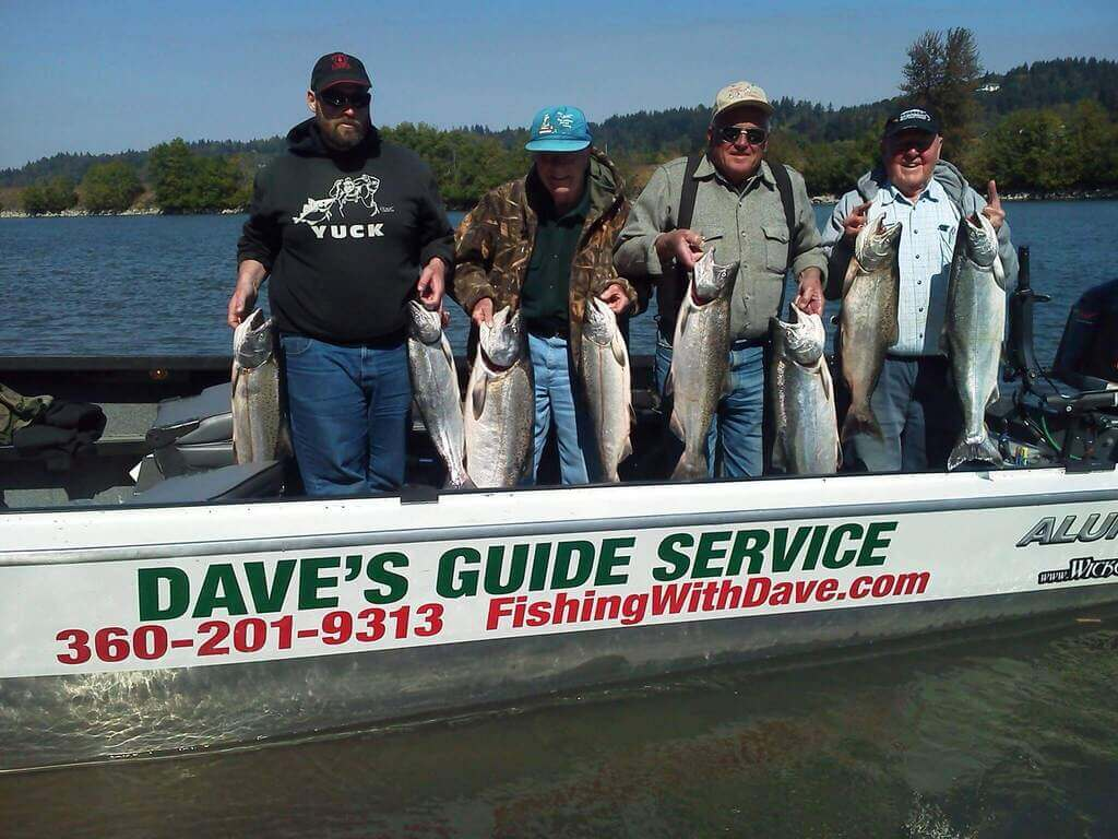 Fish Caught on Columbia River