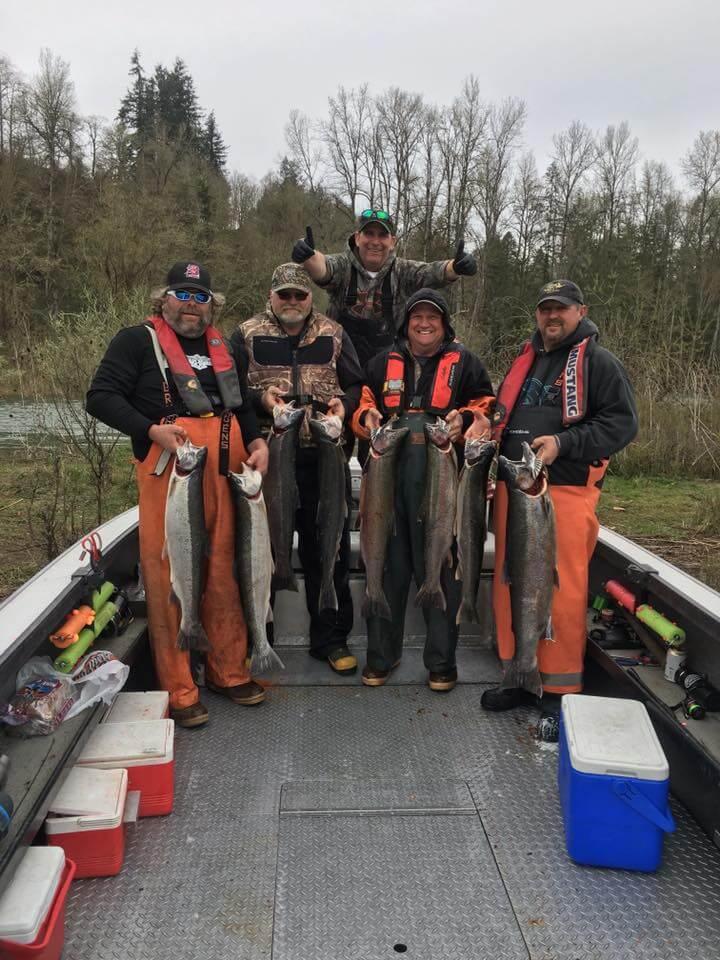 Salmon Fishing on Lewis River 2
