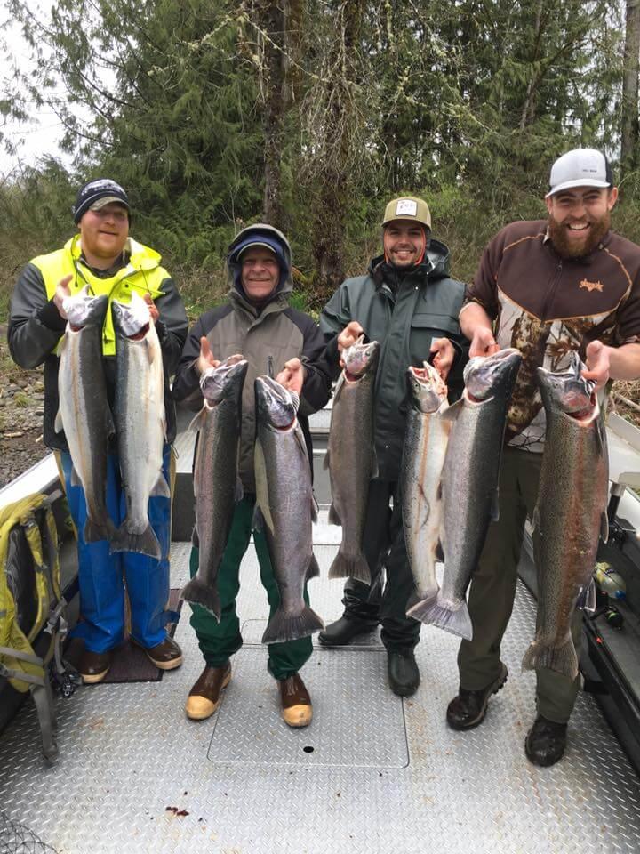 Salmon Fishing on Lewis River 3