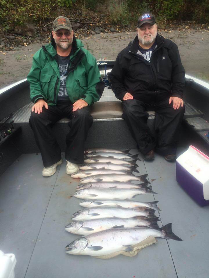 Salmon Fishing on Skagit River 3
