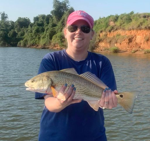 Fishing Guide on Colorado River in Texas