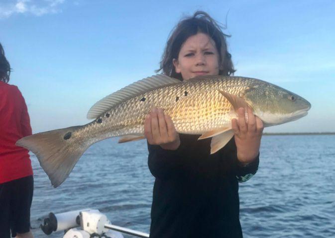 Matagorda Bay Family Friendly Fishing Charters