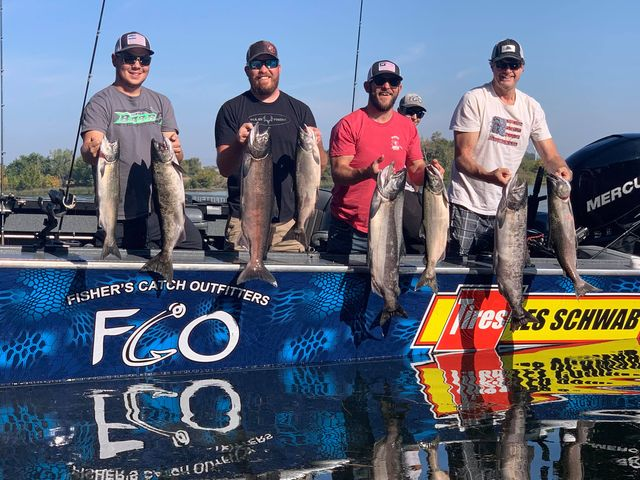 Columbia River / Hanford ReachSalmon Fishing Guides