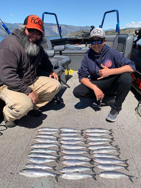 Lake Chelan Kokanee Family Fishing Trip