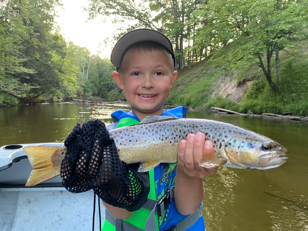 Family Fishing Trips on Pere Marquette River