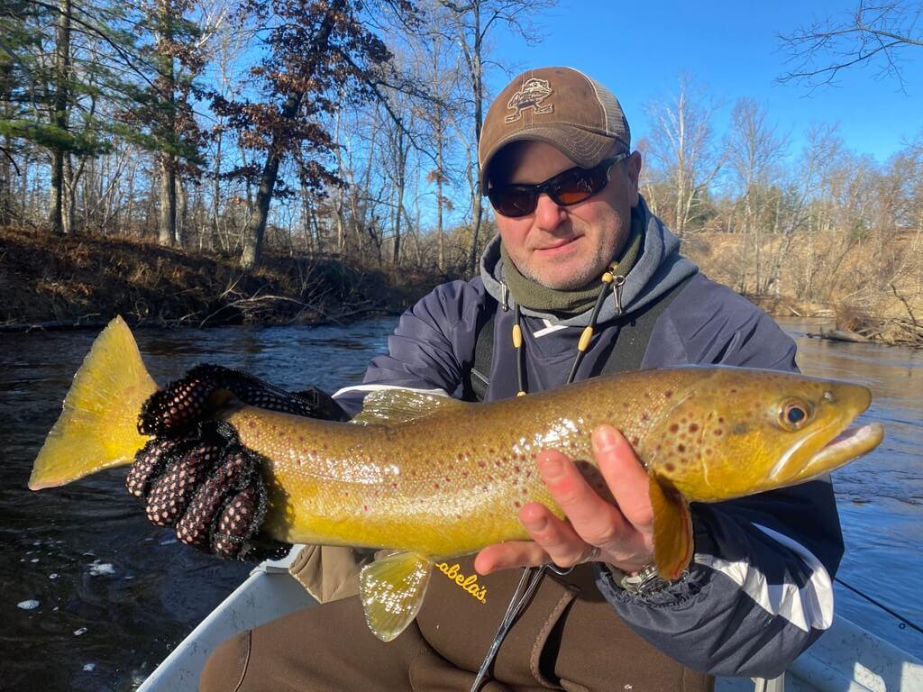 Pere Marquette Brown Trout Fishing Guide Service