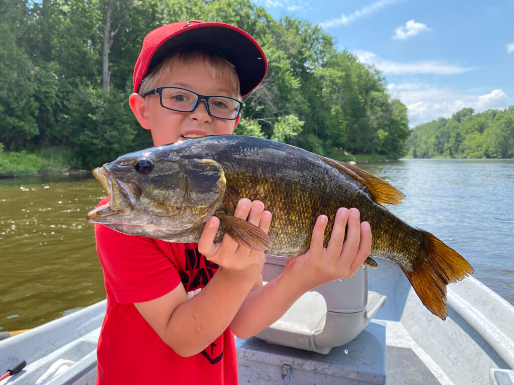 Kid Friendly Fly Fishing on Muskegon River