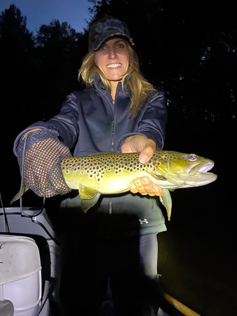 Night Fishing on Pere Marquette River