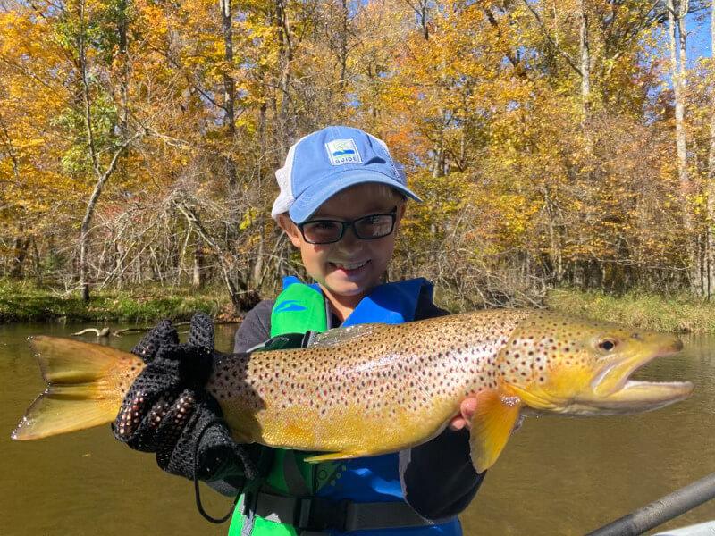 Pere Marquette River Fishing Guide