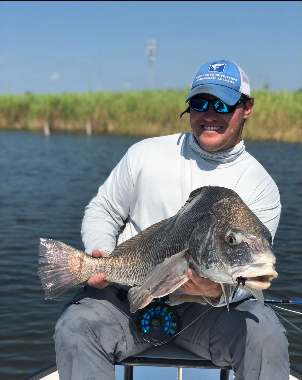 Mobile Bay Black Drum Fishing Charters