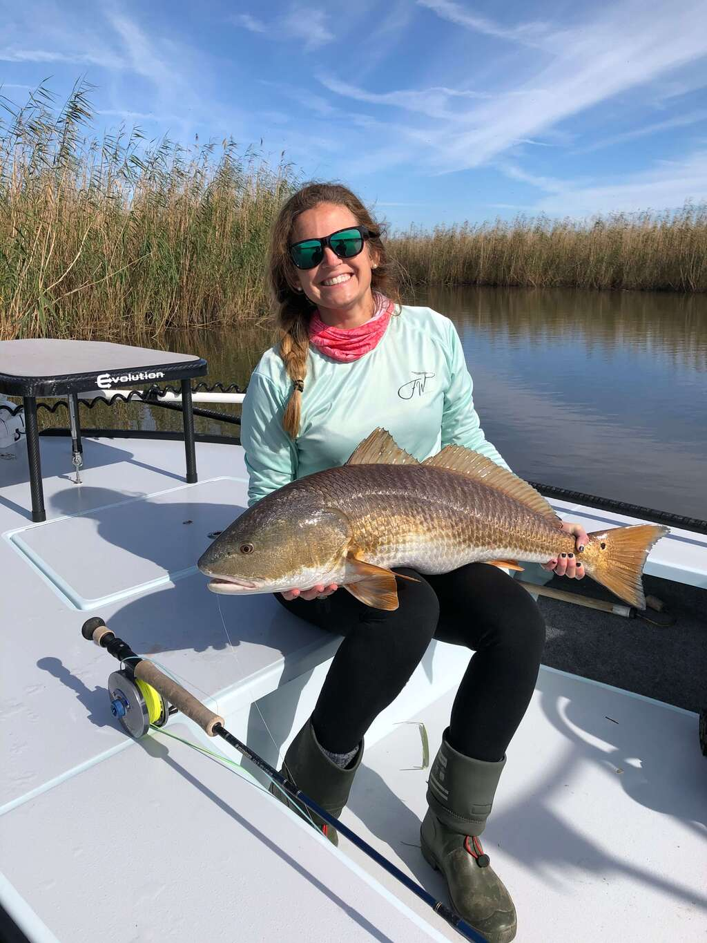 Redfish Caught on Mobile Tensaw River Delta