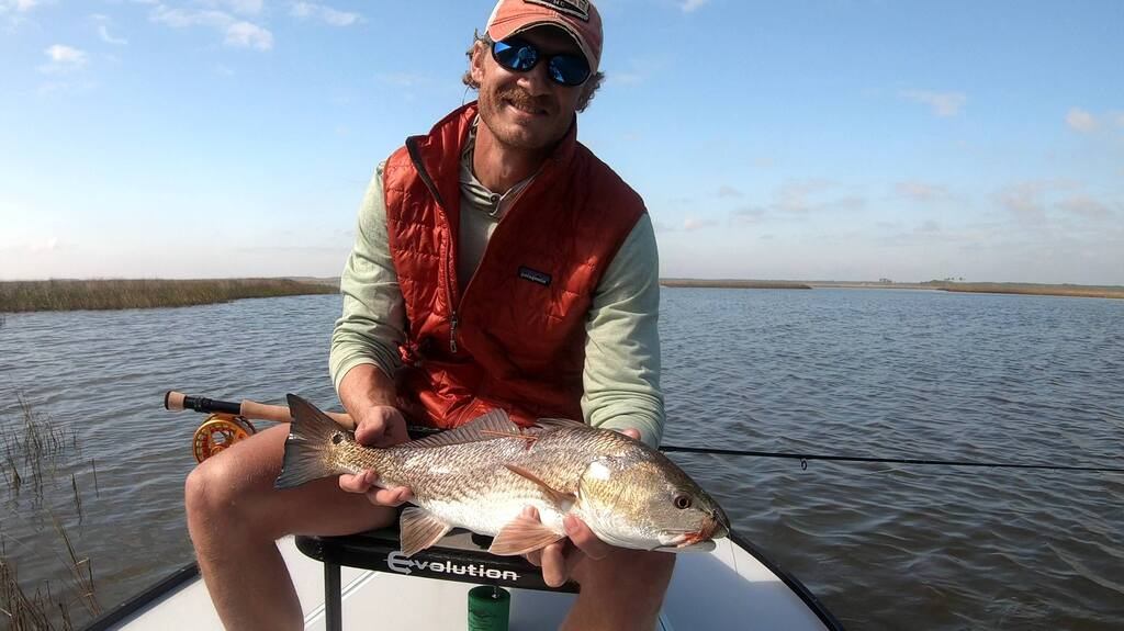 Redfish Fishing Charters Mississippi Sound