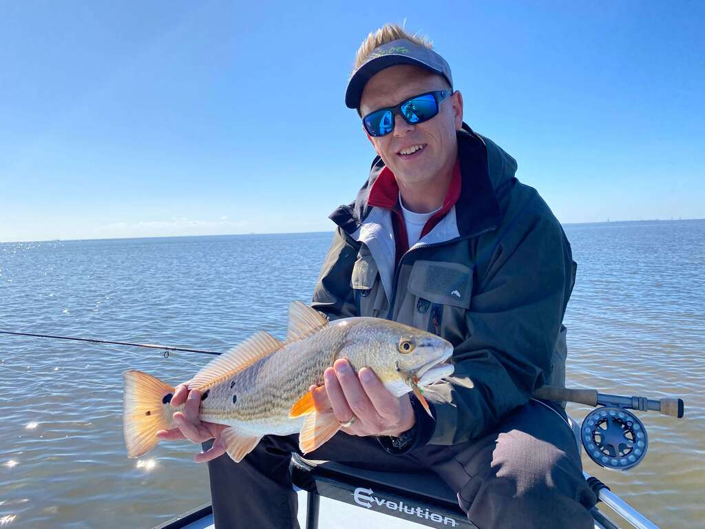 Redfish Fishing Guide on Mobile Tensaw River Delta