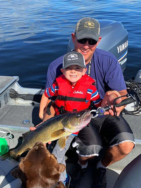 Family Fishing Trip on Lake Vermilion
