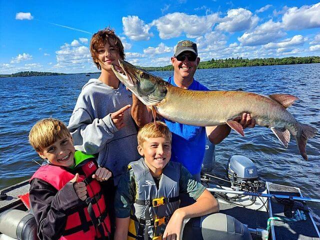 Lake Vermilion Family Fishing Trip