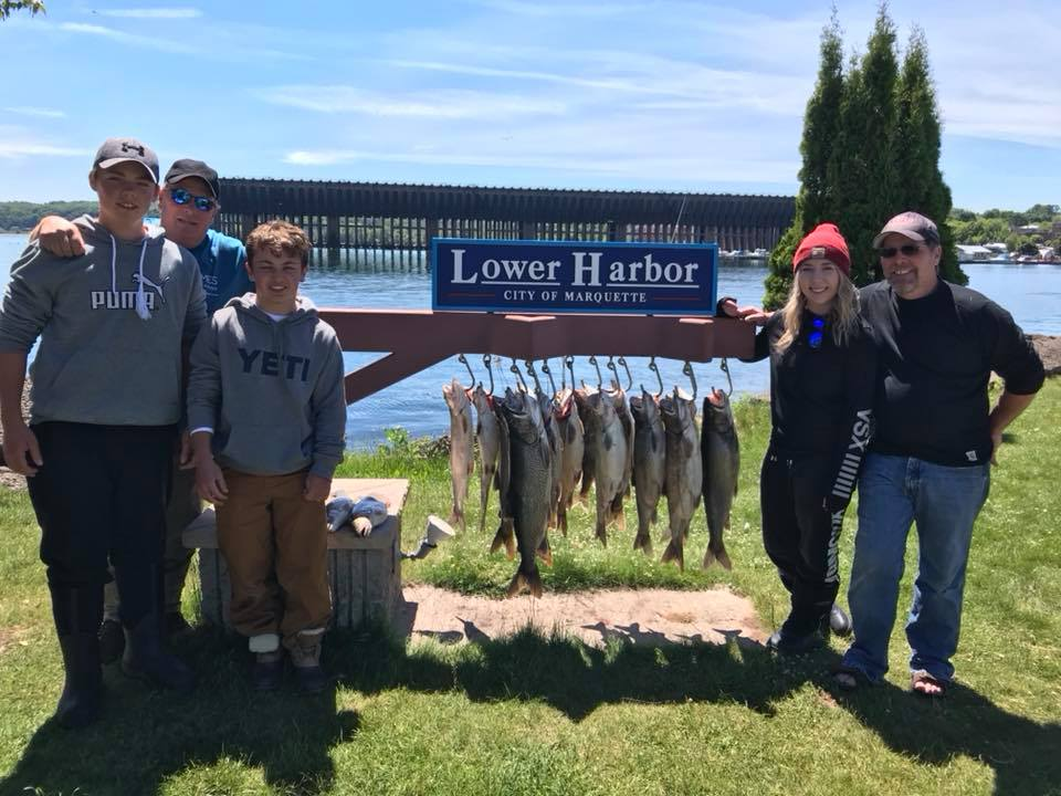 Fishing Charters from Marquette