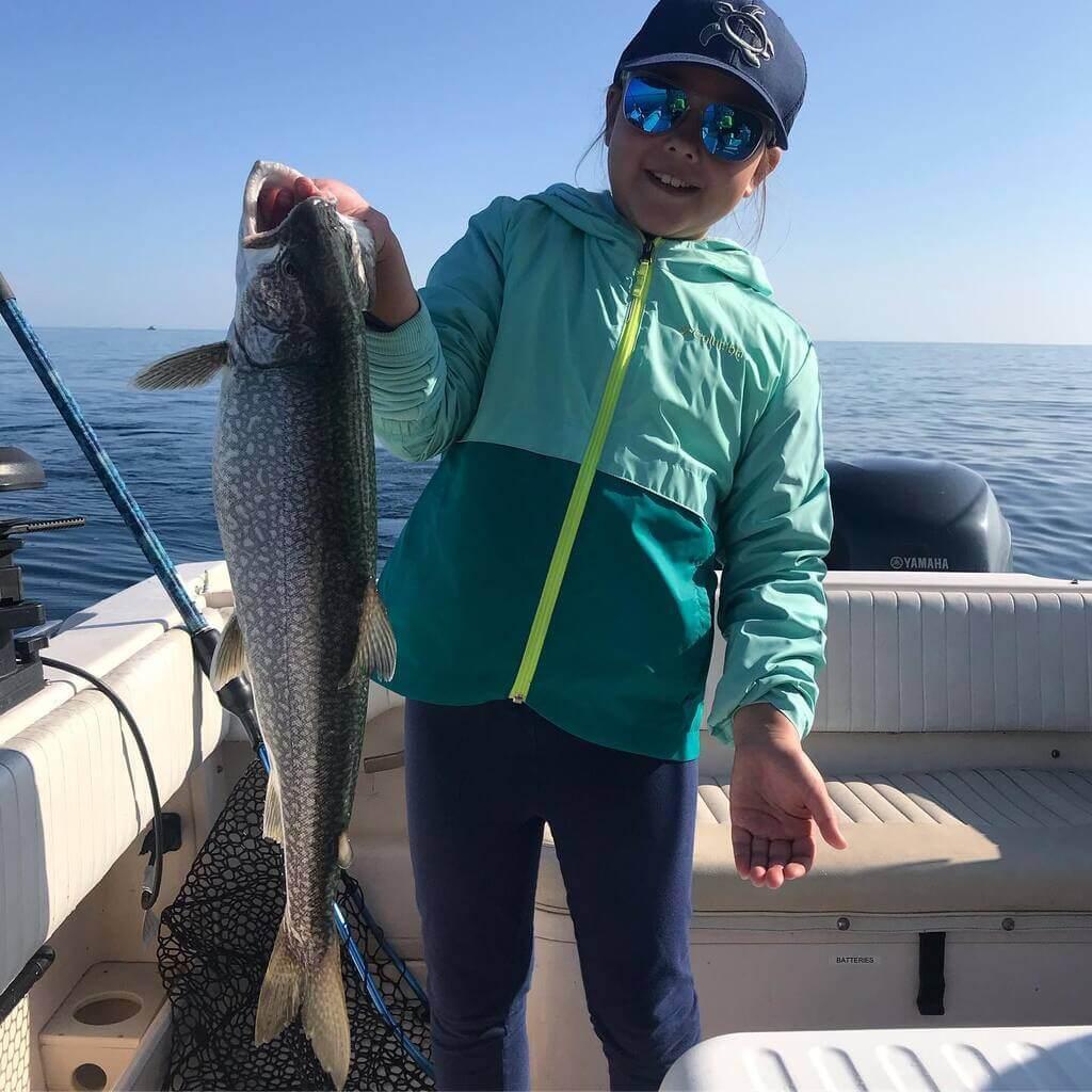 Kid Friendly Lake Superior Fishing Trips