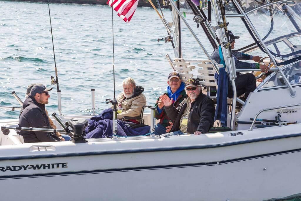 Lake Superior Fishing Guide Boat