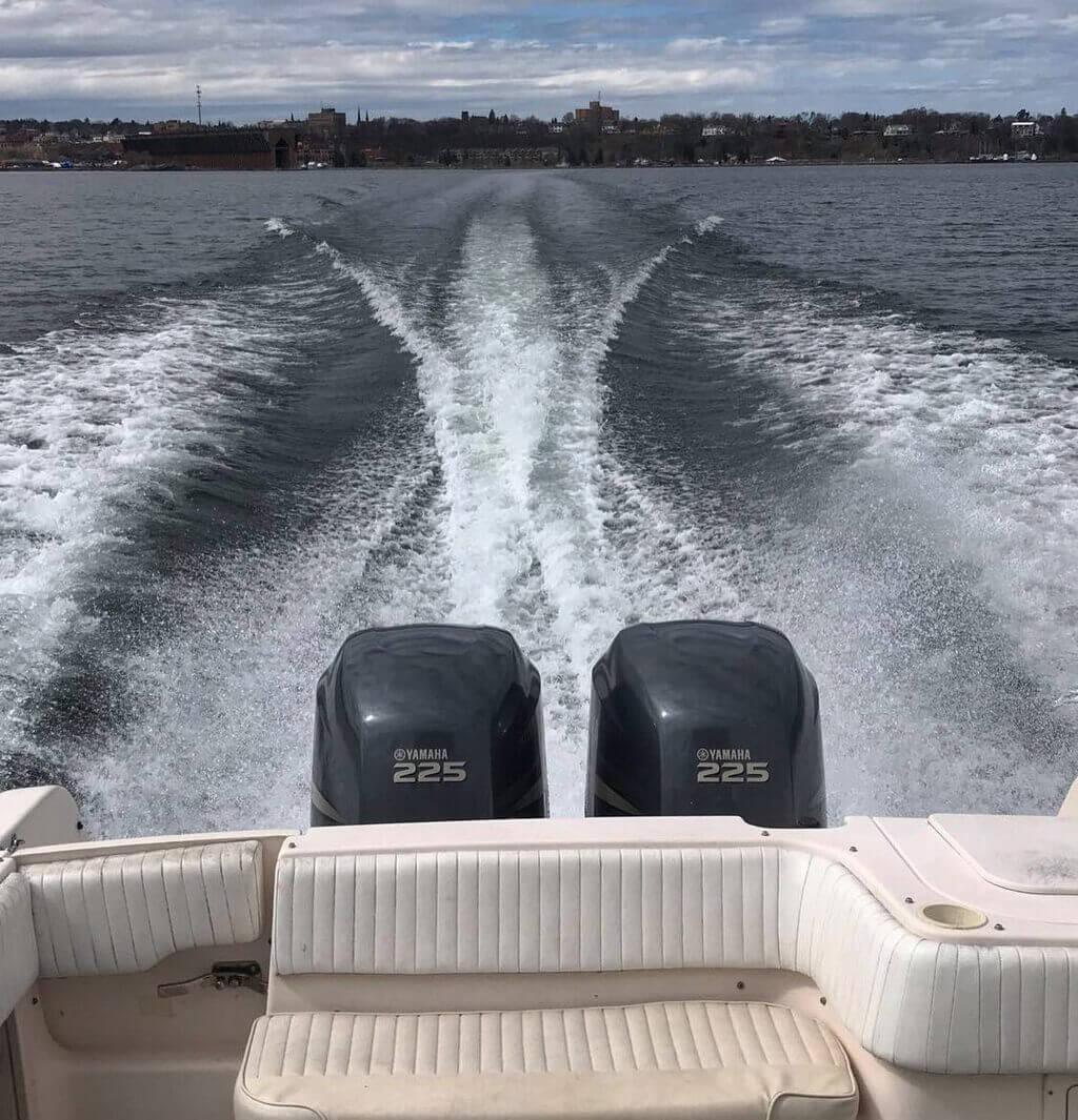 Lake Superior Fishing Guide Motor