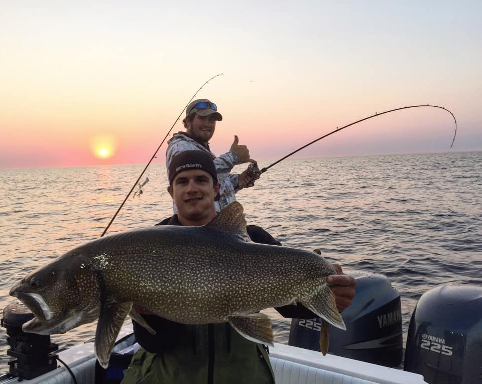 Sunset Fishing Trips on Lake Superior