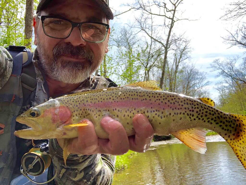 Fish Caught on Blue Springs Creek