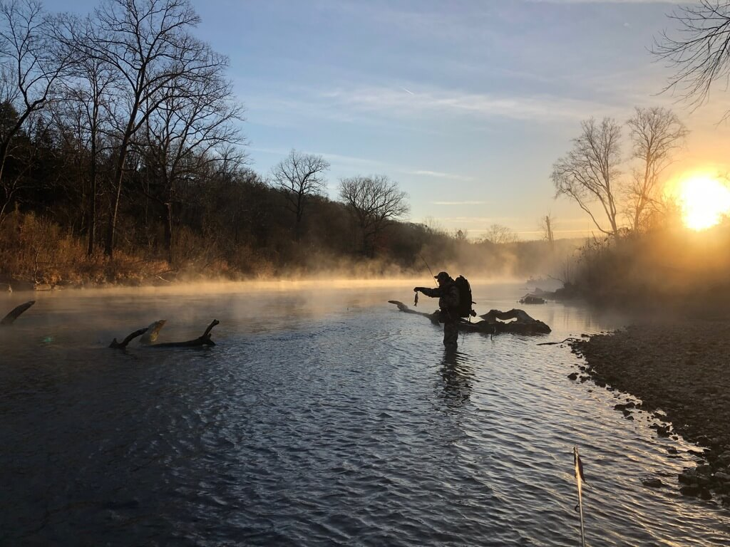 Kayaking Fishing on Eleven Point