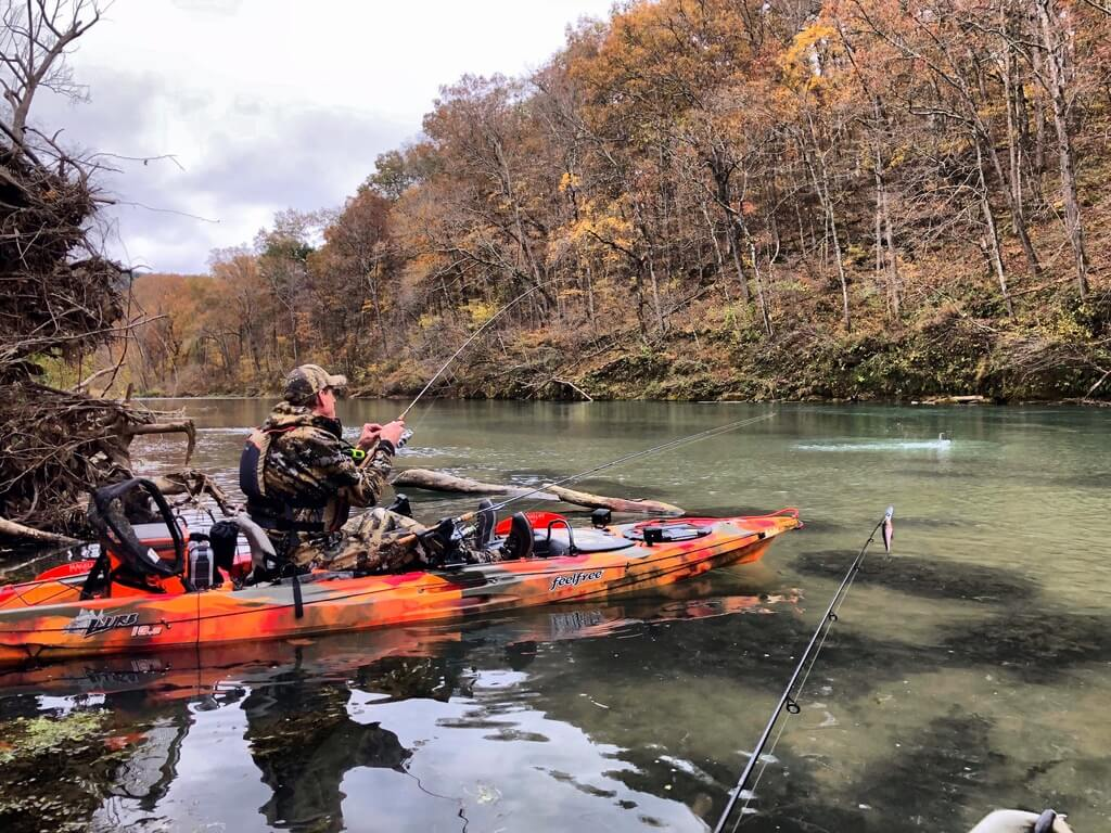 Eleven Point Kayak Fishing Guide