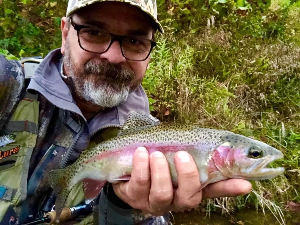 Fish on Little Piney Creek