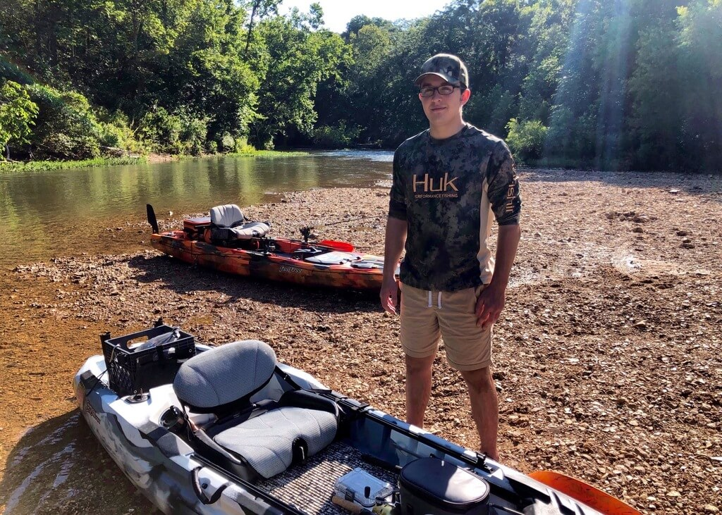 Kayak Fishing Guide on Mill Creek