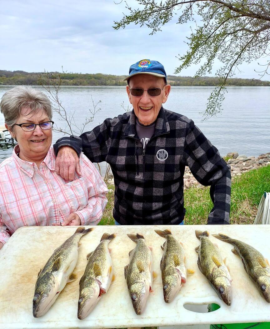 Traverse Lake Walleye Fishing Trips