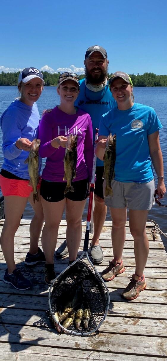 Rainy Lake Family Fishing Trip