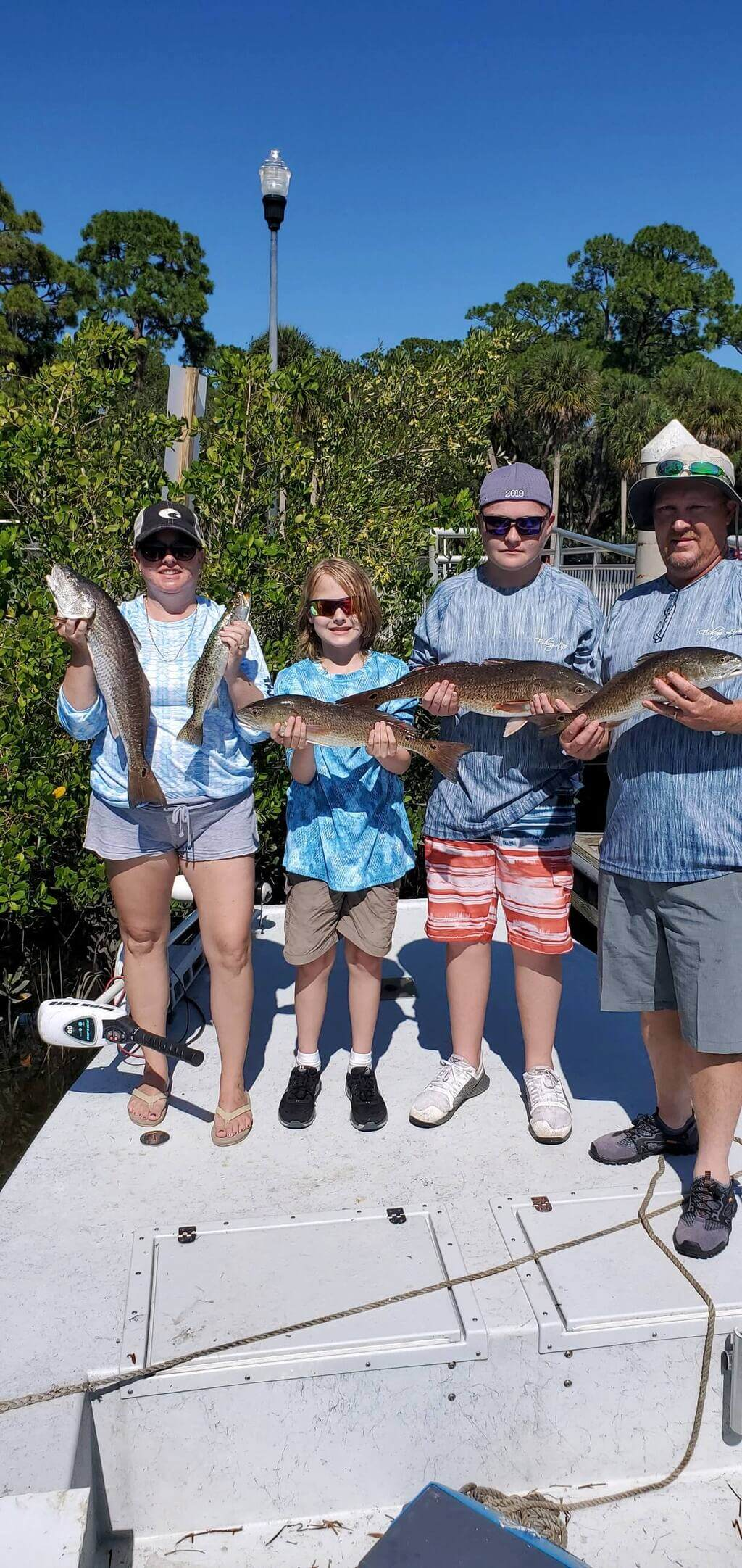 Family Friendly Crystal River Fishing Guide