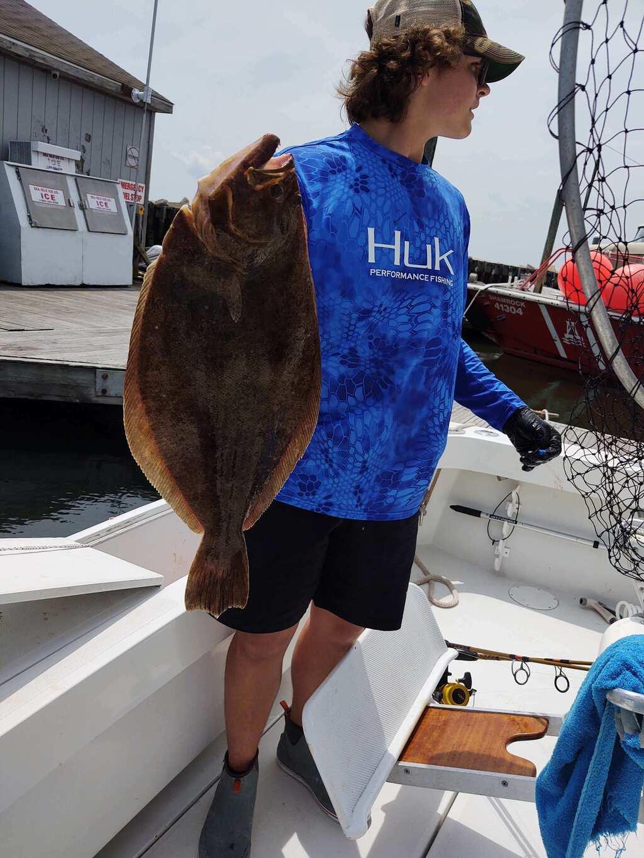Great flounder fishing