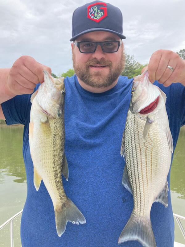 Lake Hartwell Bass Fishing Trips