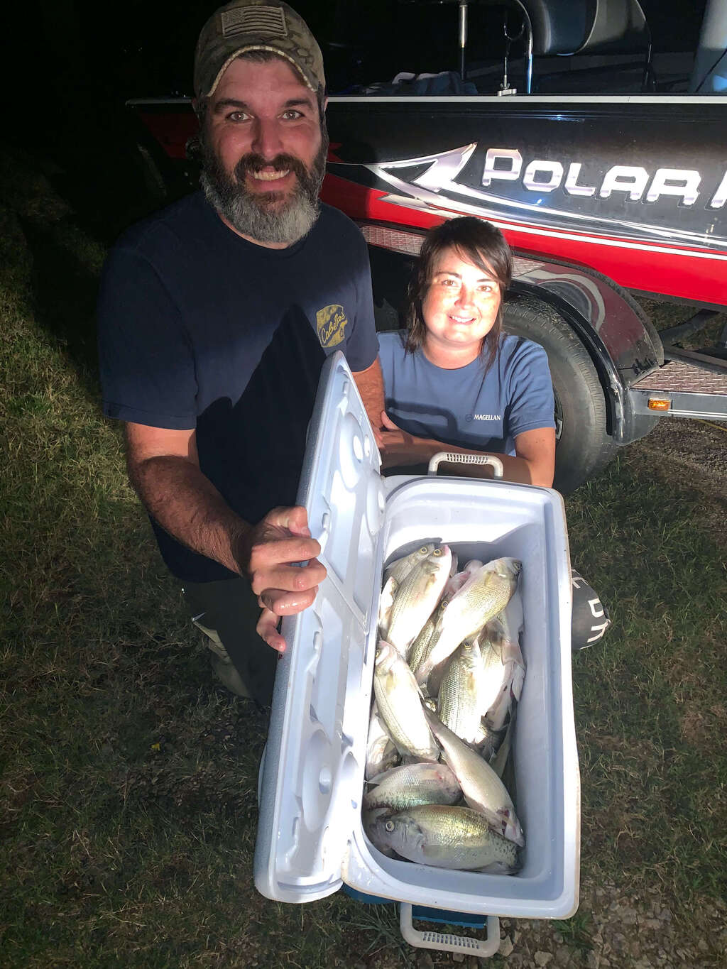 Catch Fish at Lake Murray in Oklahoma