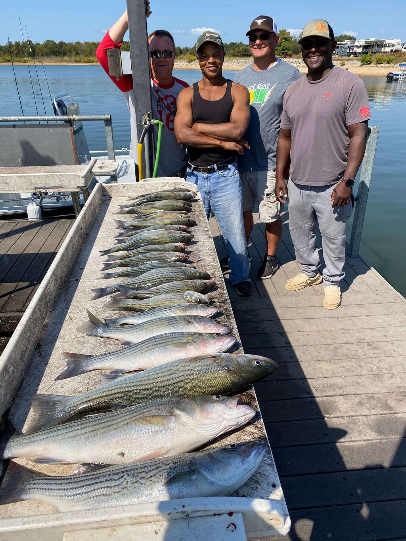 Group Fishing Trip on Lake Texoma