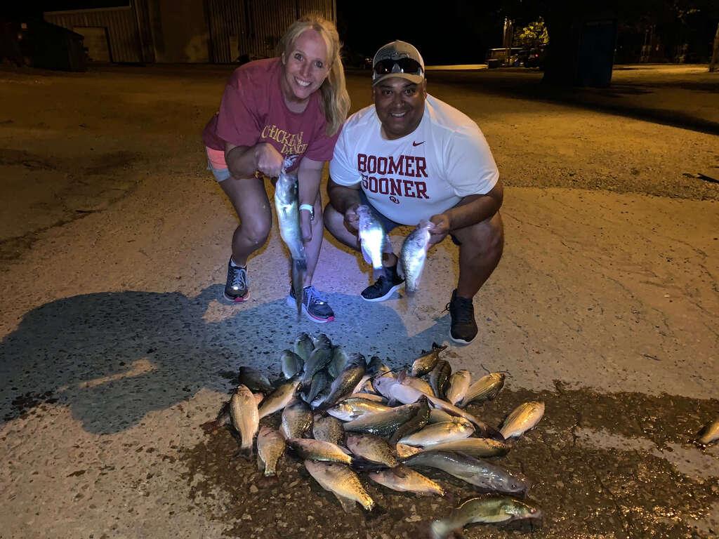 Lake Murray Fishing Trip