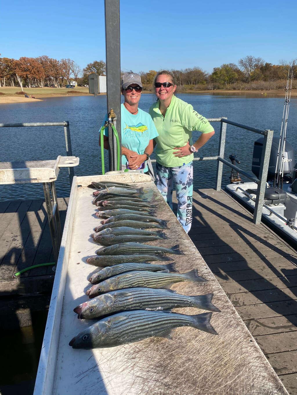Lake Texoma Fishing Guide Trips